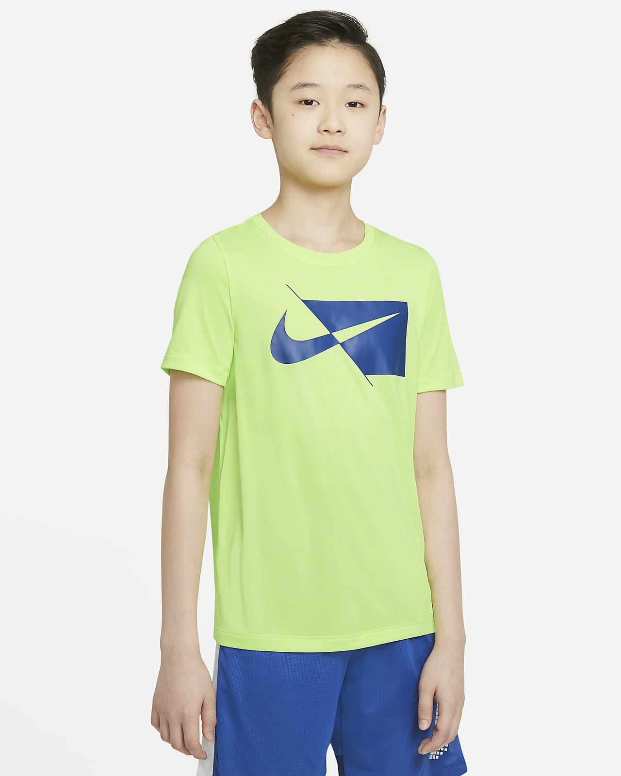 Nike Big Kids' (Boys') Short-Sleeve Training Top
