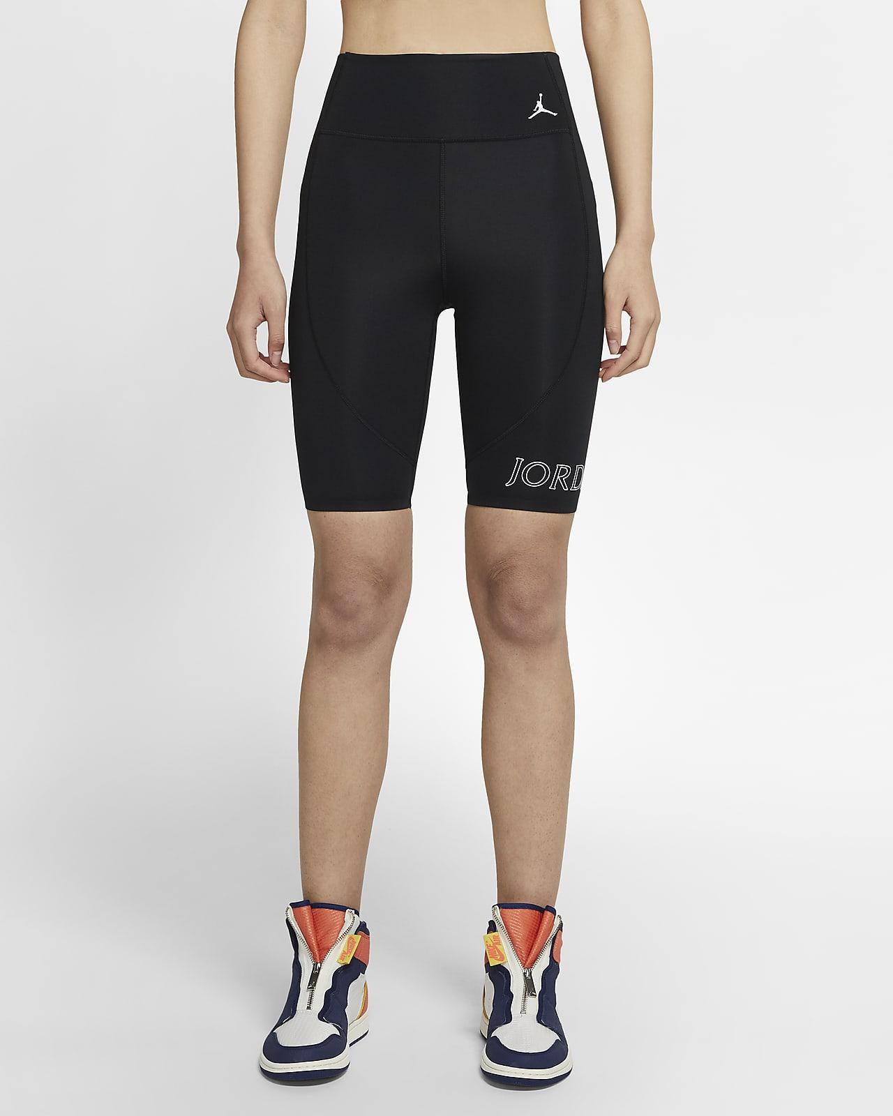 กางเกงปั่นจักรยานขาสั้นผู้หญิง Jordan Utility