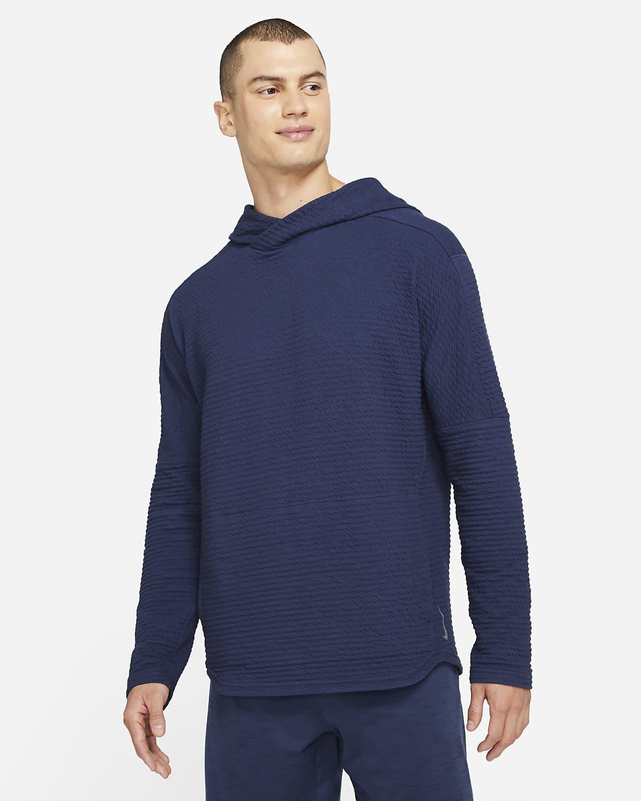 Sudadera con capucha sin cierre para hombre Nike Yoga Nomad