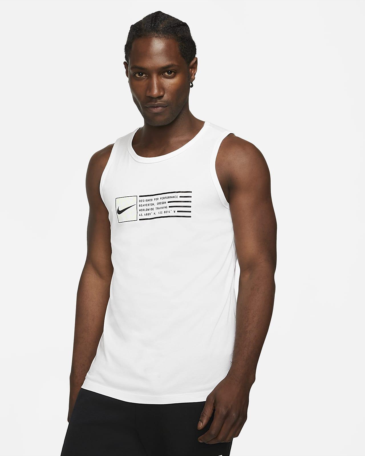 Camiseta de tirantes de entrenamiento estampada para hombre Nike Dri-FIT