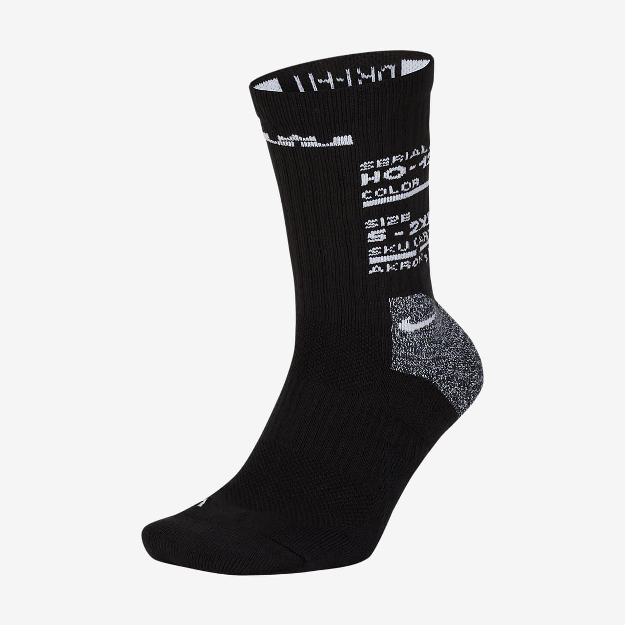 Chaussettes de basketball mi-mollet LeBron Elite