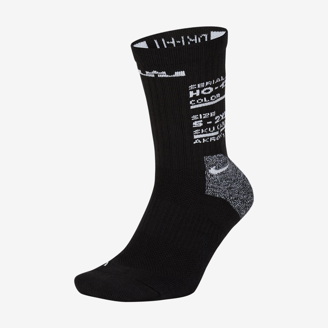 LeBron Elite Basketball-Crew-Socken