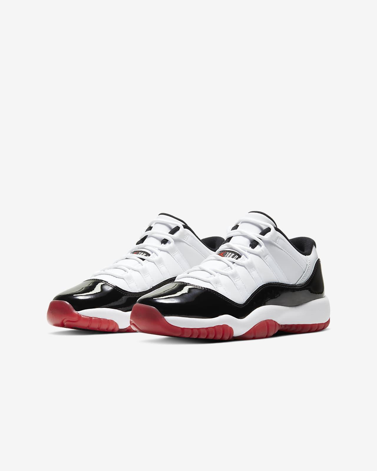 Air Jordan 11 Retro Low Big Kids' Shoe