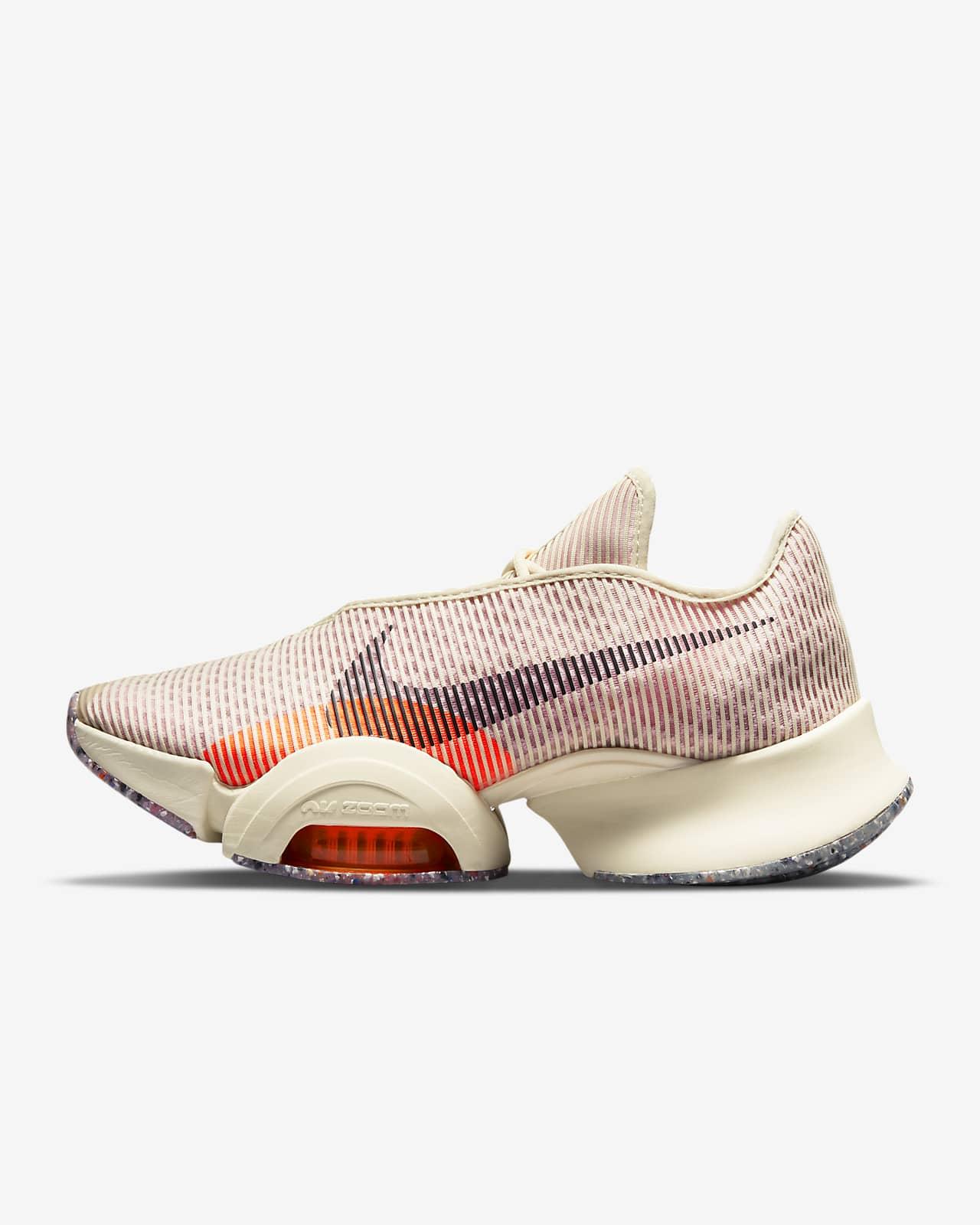 รองเท้าผู้หญิงสำหรับคลาส HIIT Nike Air Zoom SuperRep 2 Next Nature