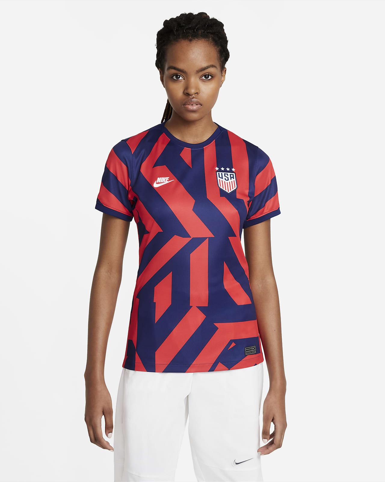 Camiseta de fútbol de visitante para mujer Stadium de EE. UU. 2021