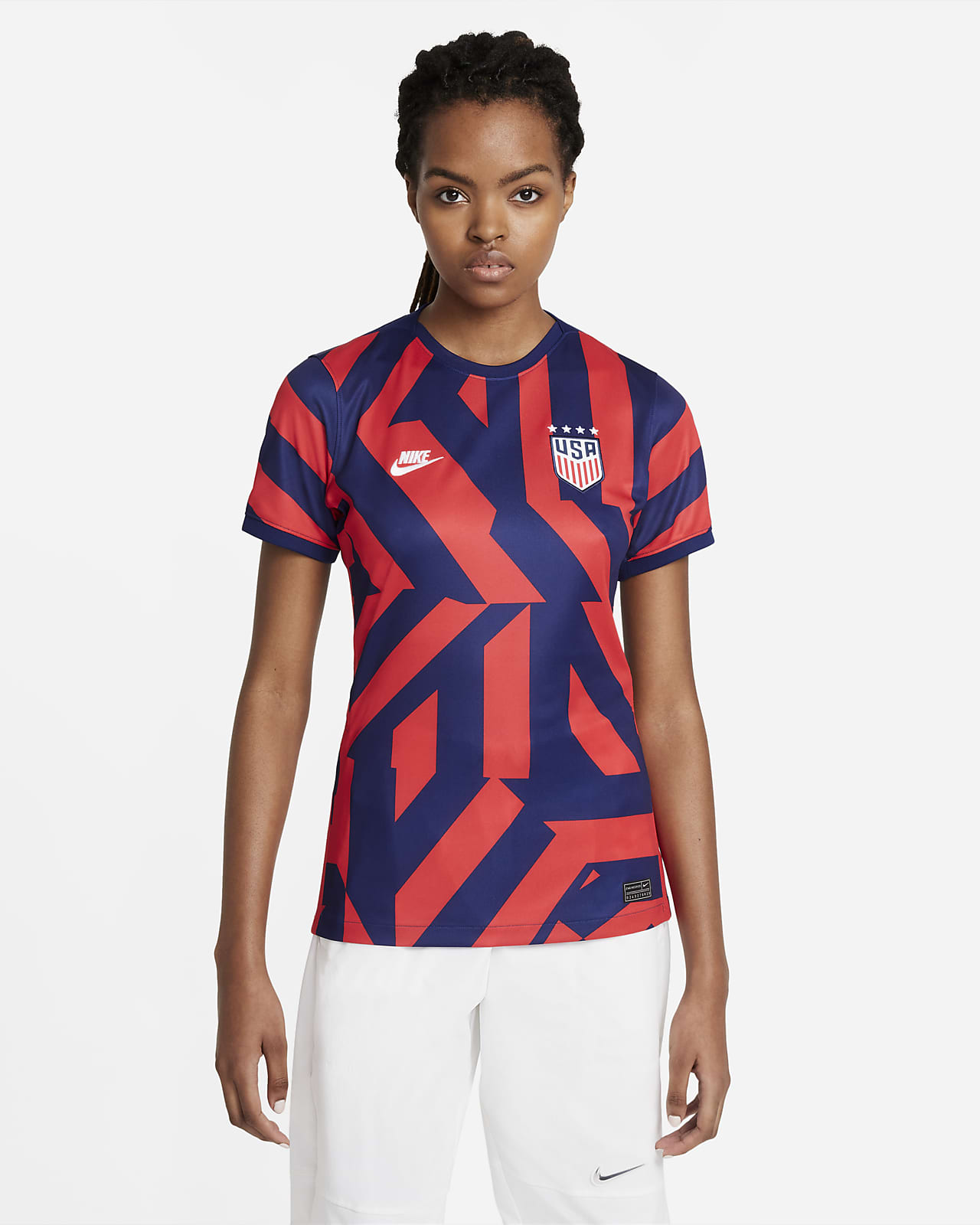U.S. 2021 Stadium Away Damen-Fußballtrikot