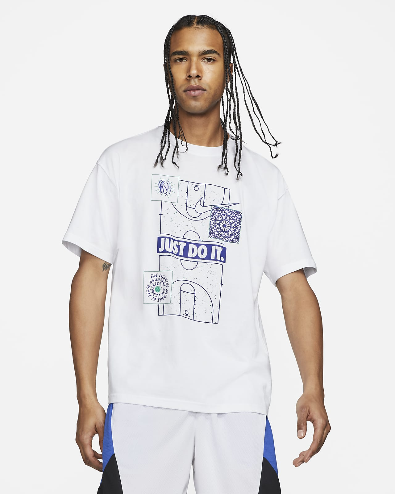 "Nike ""Just Do It."" Men's Basketball T-Shirt"