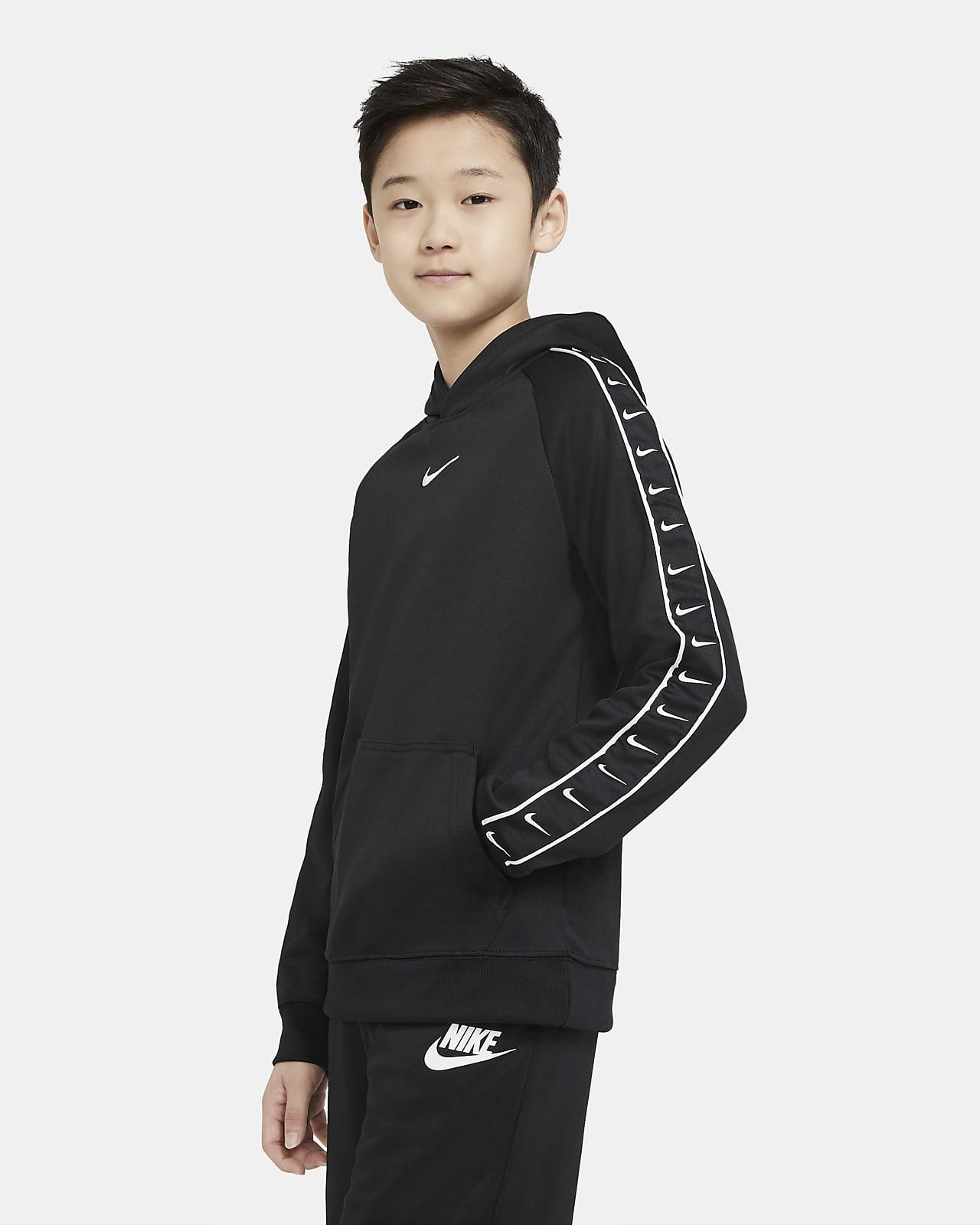 Bluza z kapturem dla dużych dzieci Nike Sportswear Swoosh