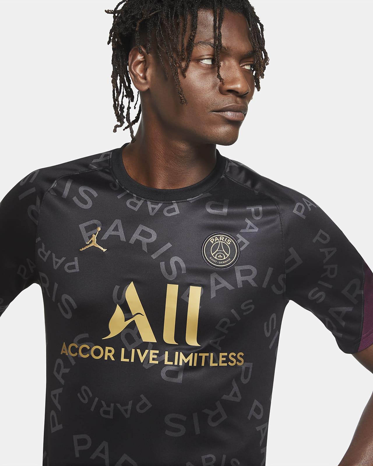 Pre-Match Short-Sleeve Soccer Top. Nike