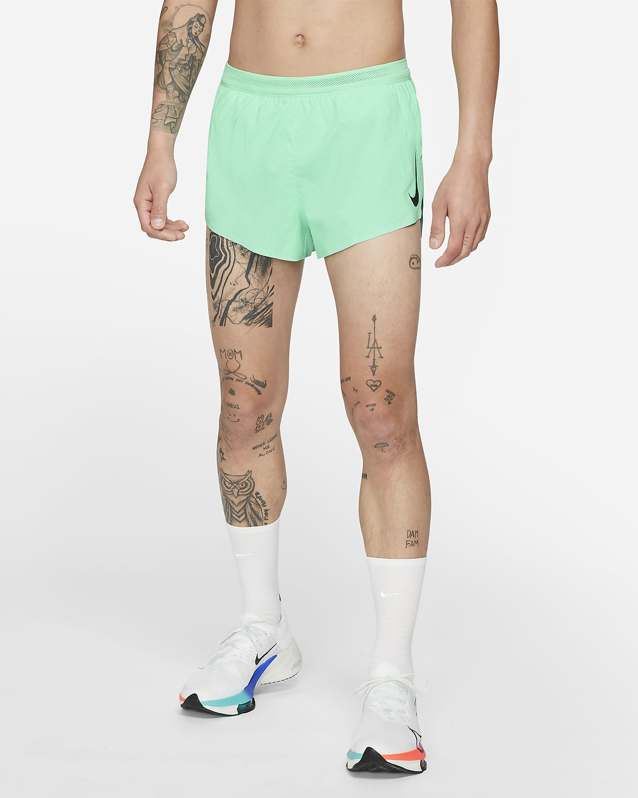"Nike 2"" 男子跑步短裤"