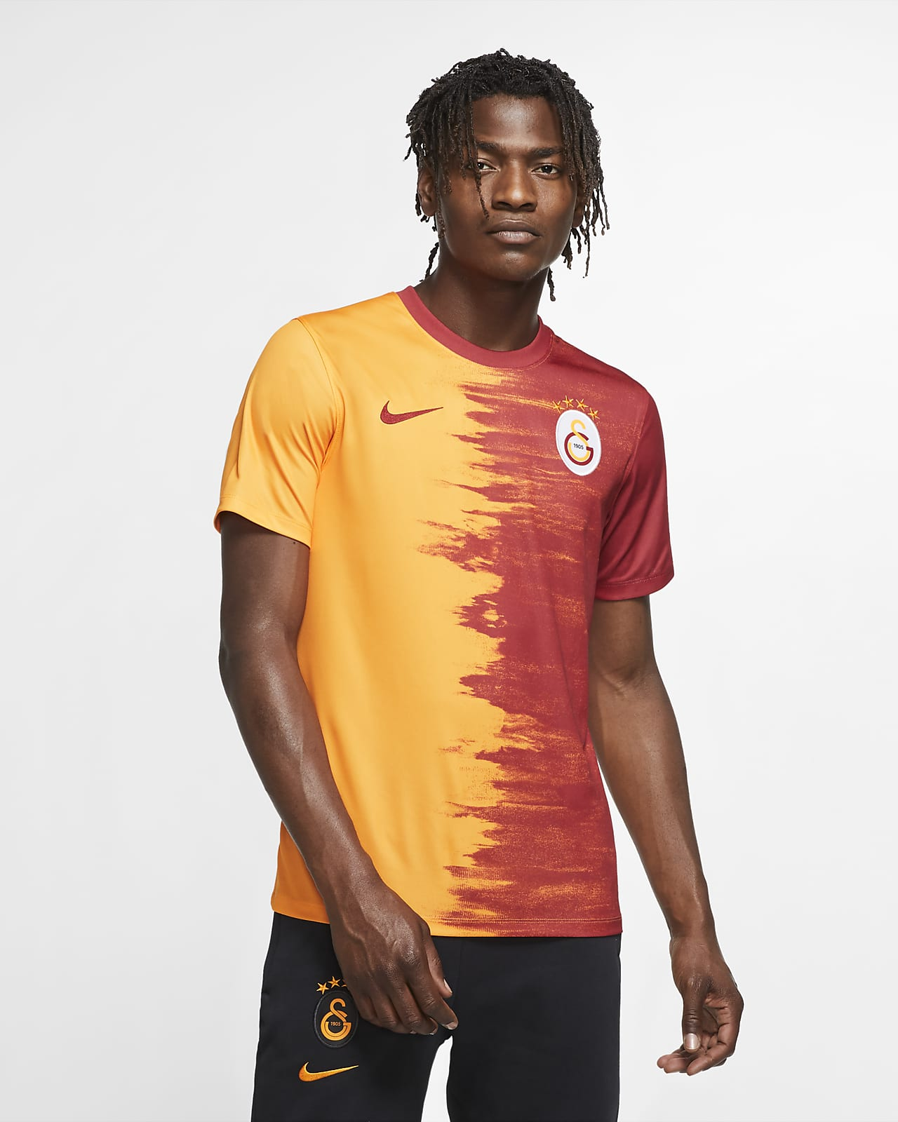 Galatasaray 2020/21 Home Herren-Fußballtrikot