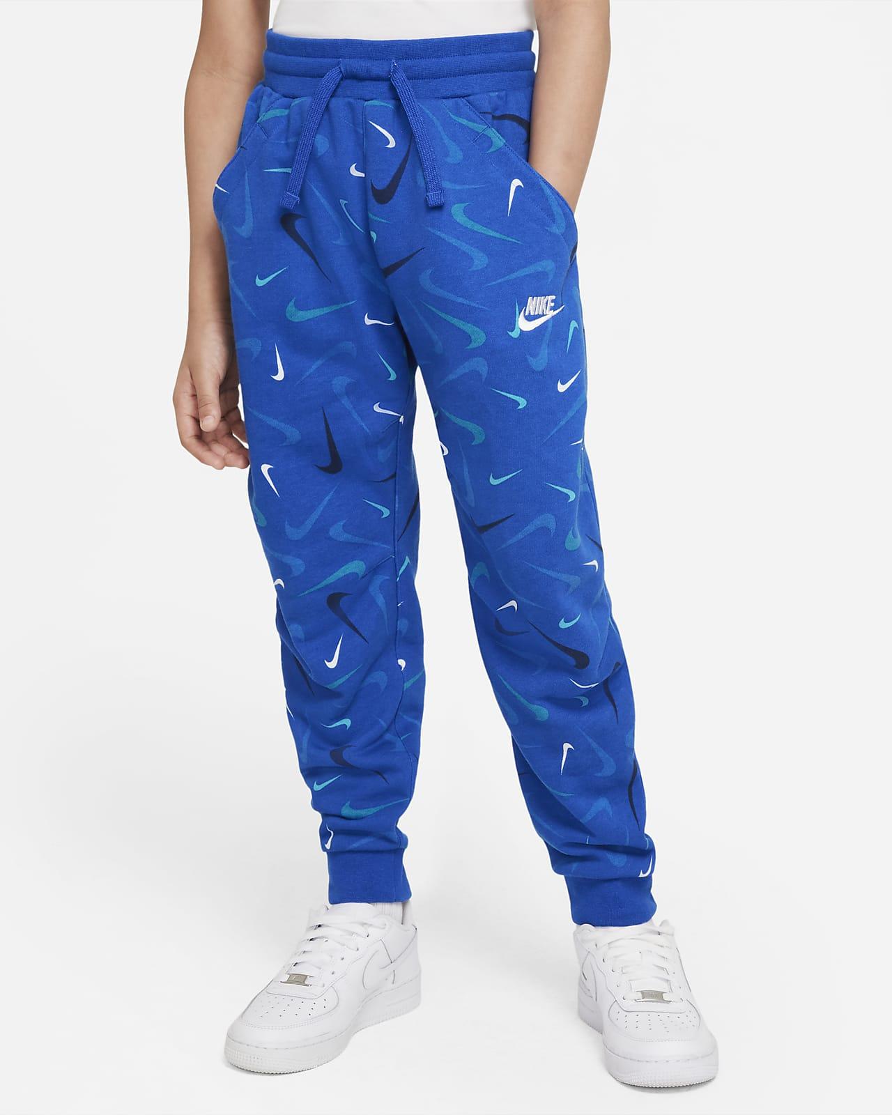 Nike Sportswear Club Big Kids' (Boys') French Terry Printed Joggers