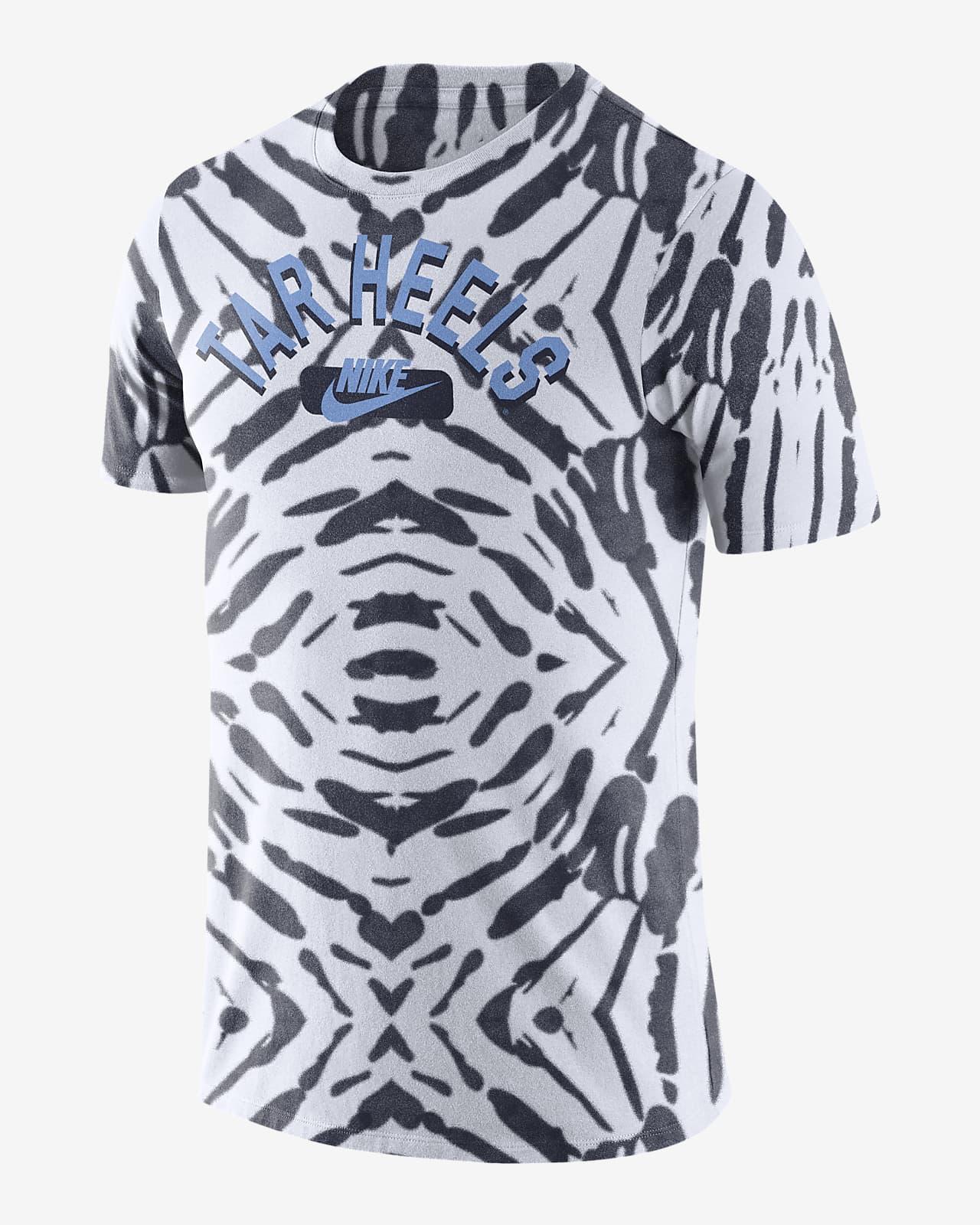 Nike College (UNC) Men's Printed T-Shirt