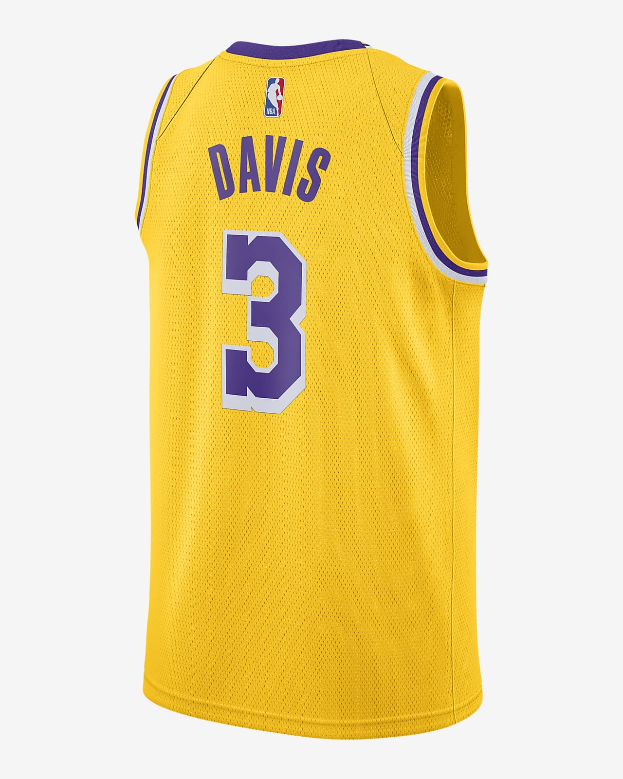 Anthony Davis Lakers Icon Edition 2020 Nike NBA Swingman Jersey ...