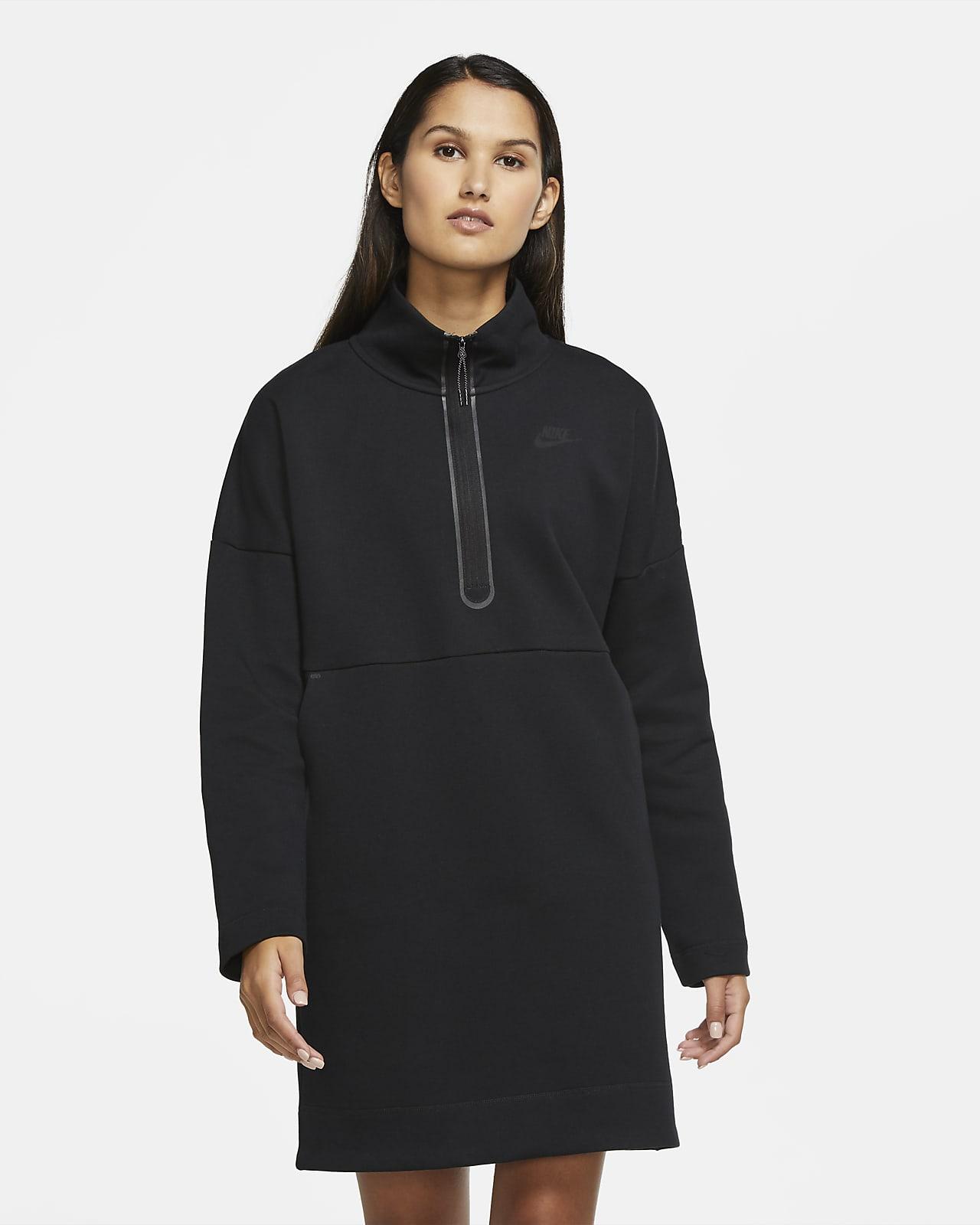 Vestido de medio cierre para mujer Nike Sportswear Tech Fleece