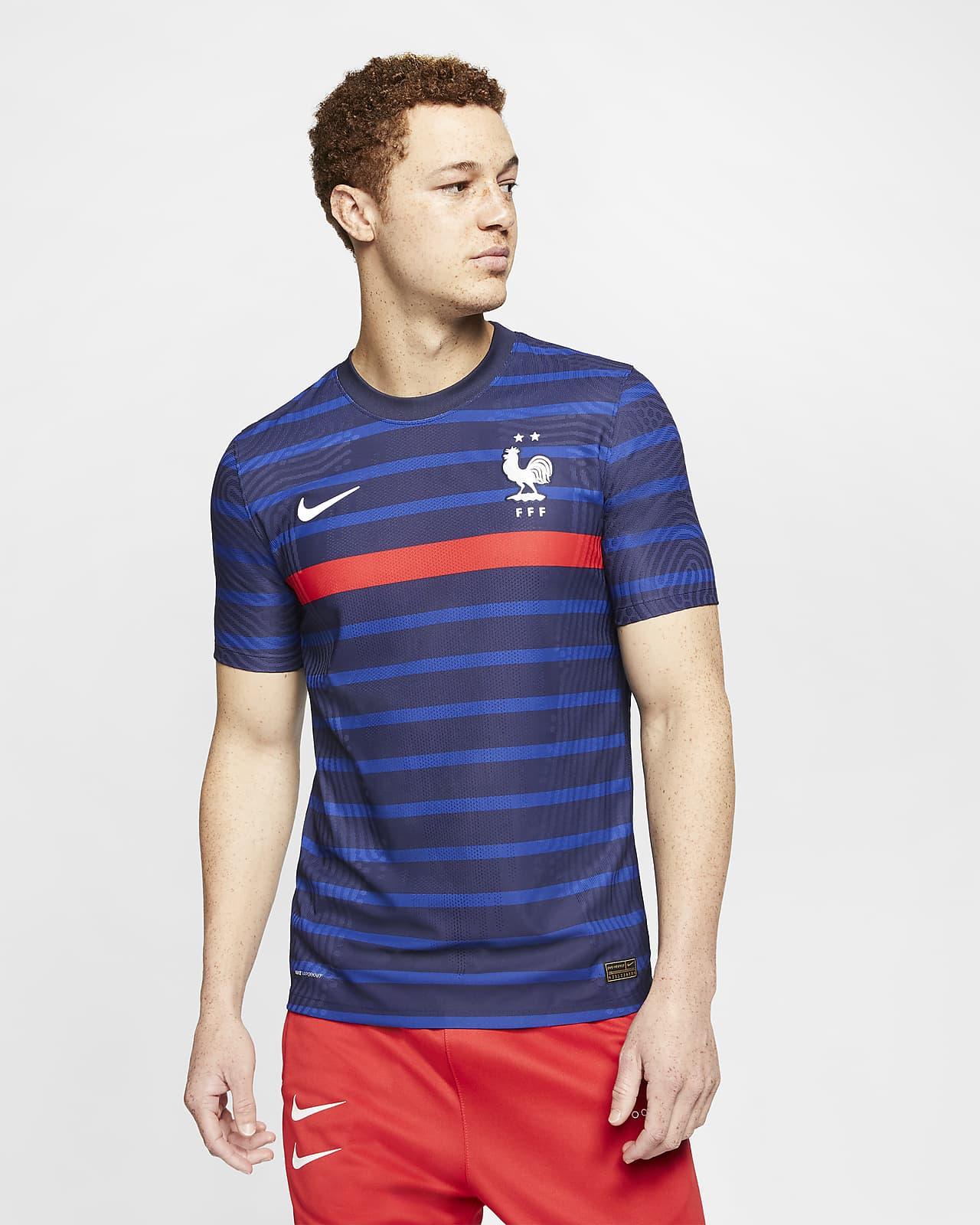 Camiseta de fútbol de local para hombre Vapor Match de la FFF 2020