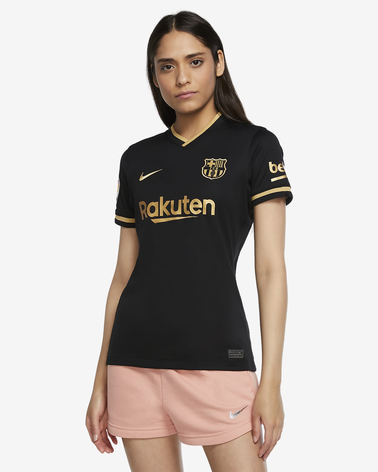 F.C. Barcelona 2020/21 Stadium Away Women's Football Shirt