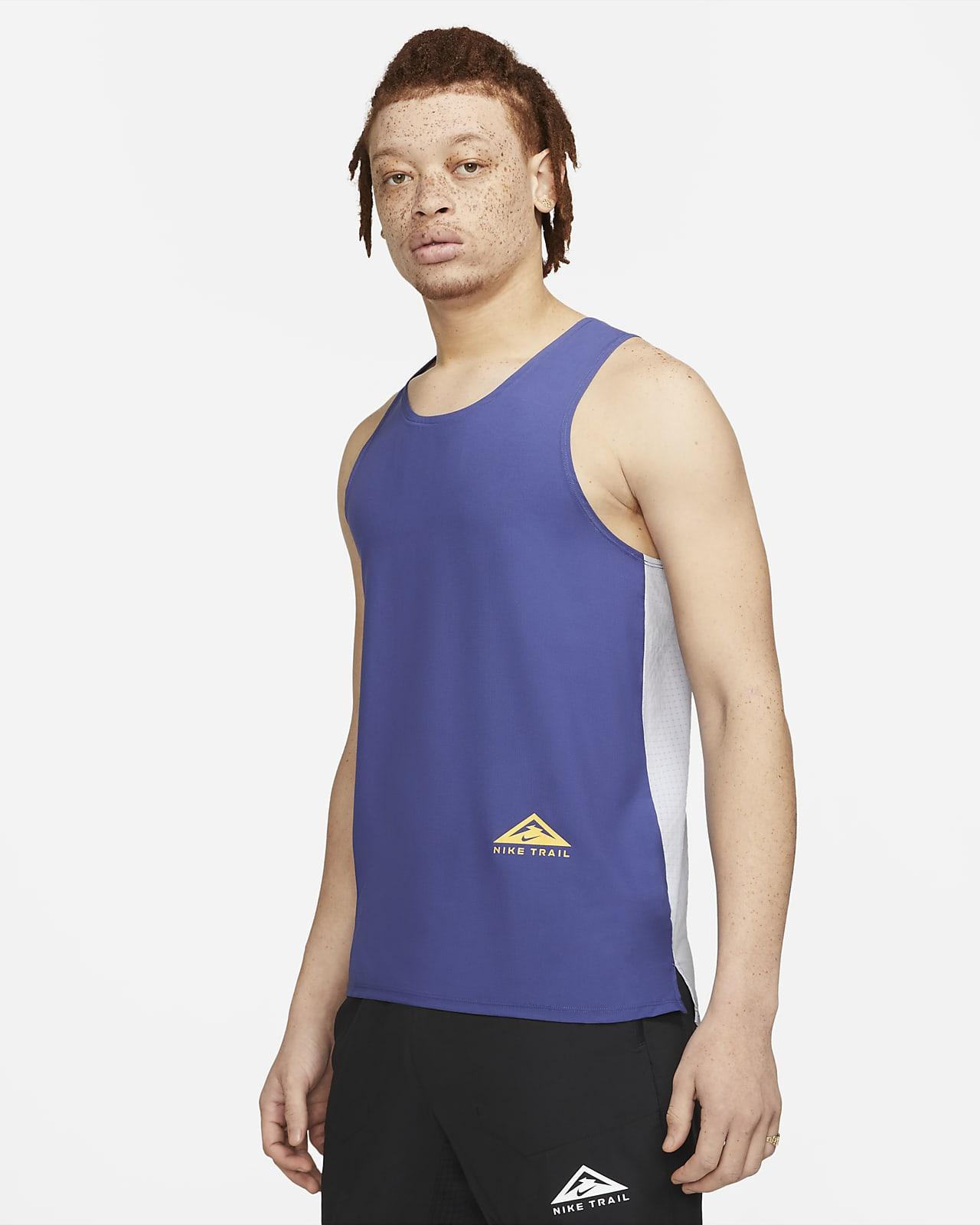 Nike Dri-FIT Rise 365 terrengløpesinglet til herre