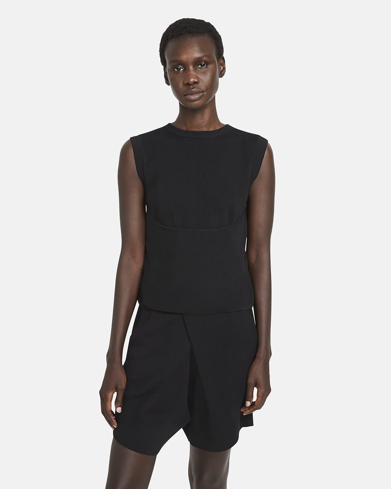 Nike ESC Camiseta cruzada de tejido Knit - Mujer