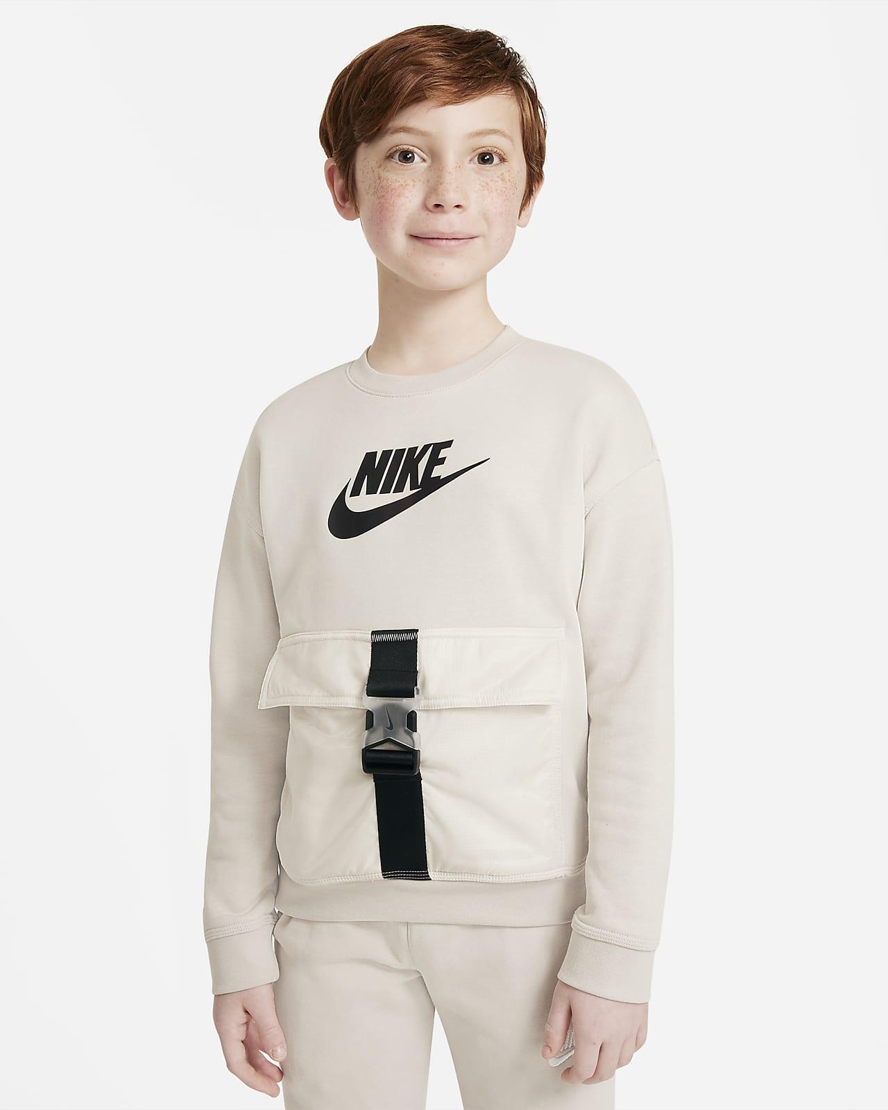 Nike Sportswear Big Kids' (Boys') Crew