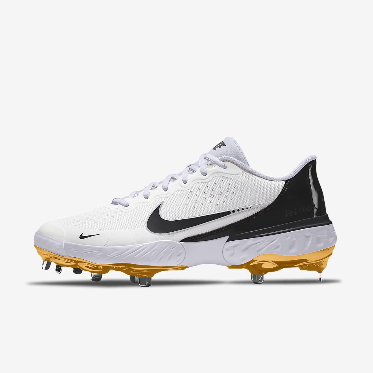 Εξατομικευμένο παπούτσι μπέιζμπολ με τάπες Nike Alpha Huarache Elite 3 Low By You