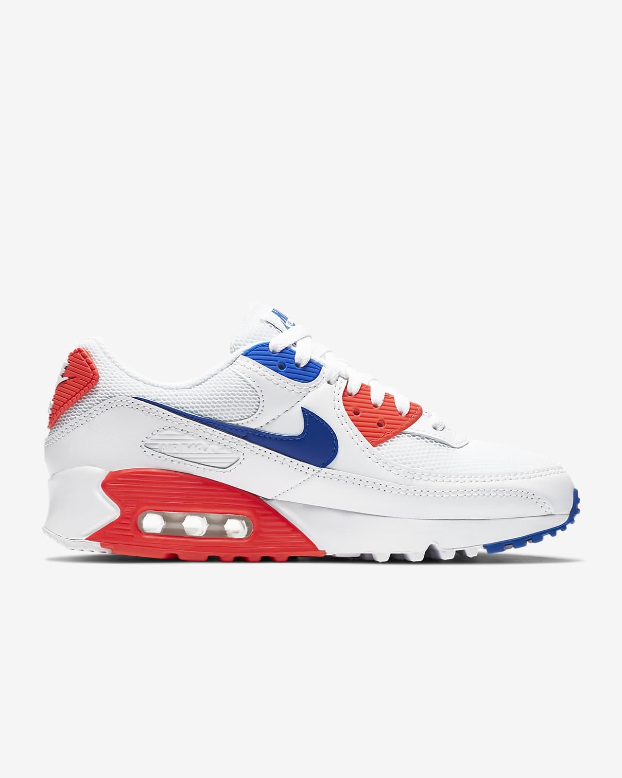 baskets nike air max 90 chaussures de running pour homme femme bleu