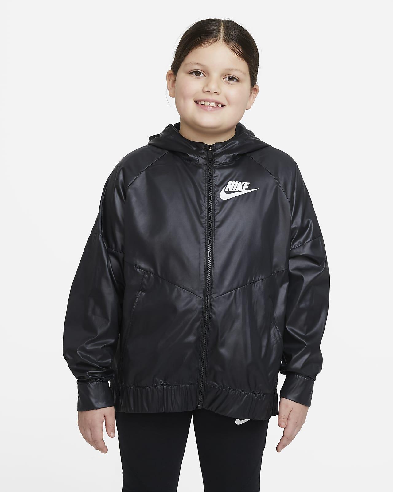 Nike Sportswear Windrunner Big Kids' (Girls') Jacket (Extended Size)