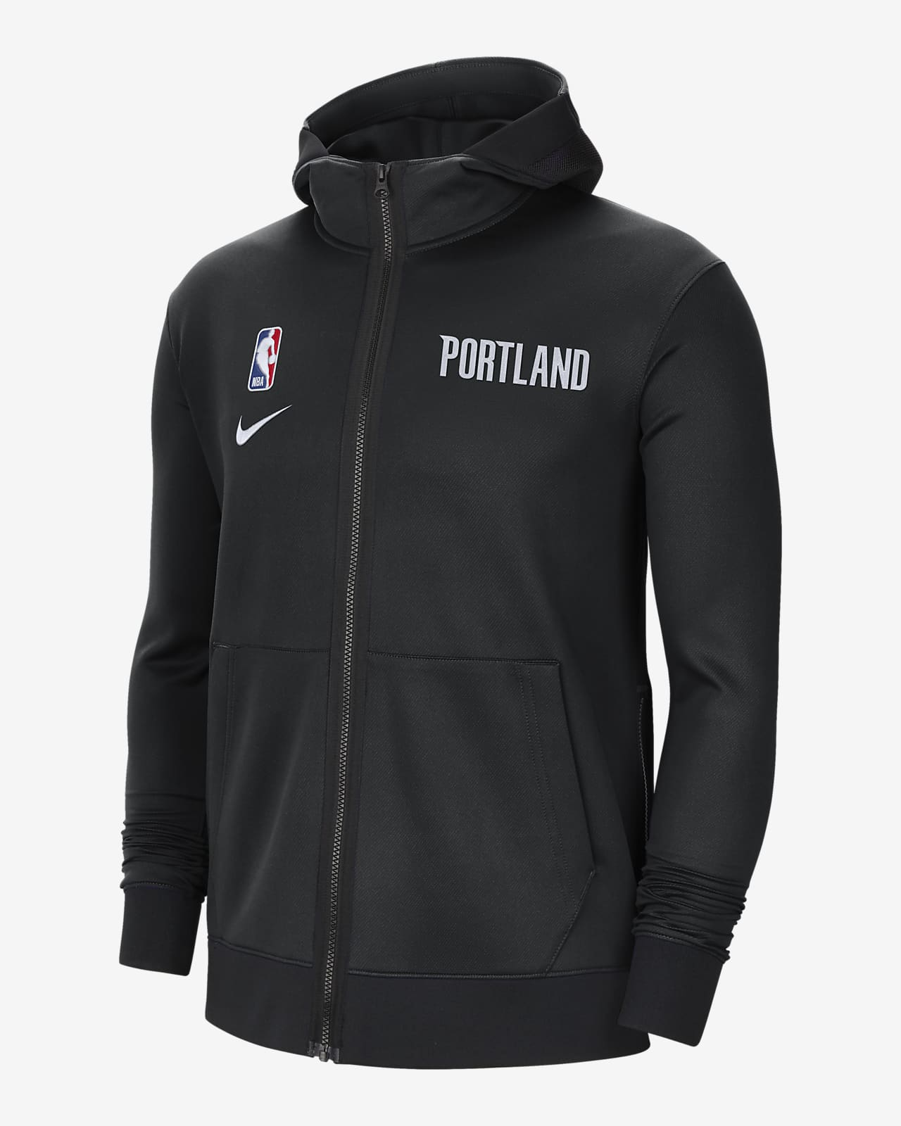 Portland Trail Blazers Showtime Nike Therma Flex NBA-hoodie voor heren