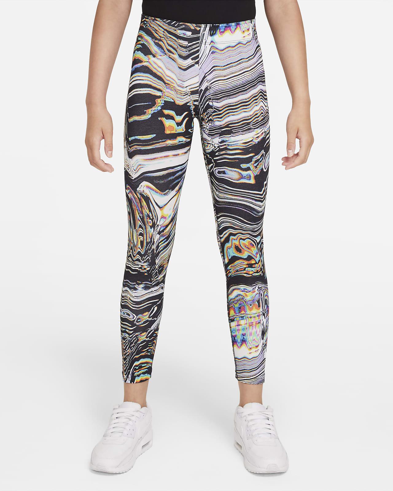 Nike Sportswear Favourites Older Kids' (Girls') Printed Dance Leggings