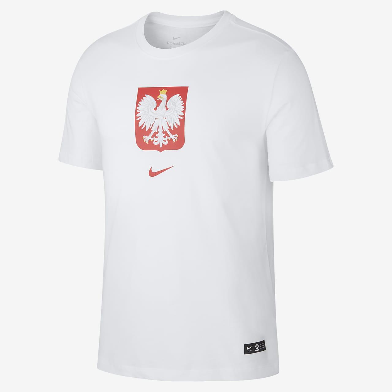 Playera de fútbol para hombre de Polonia