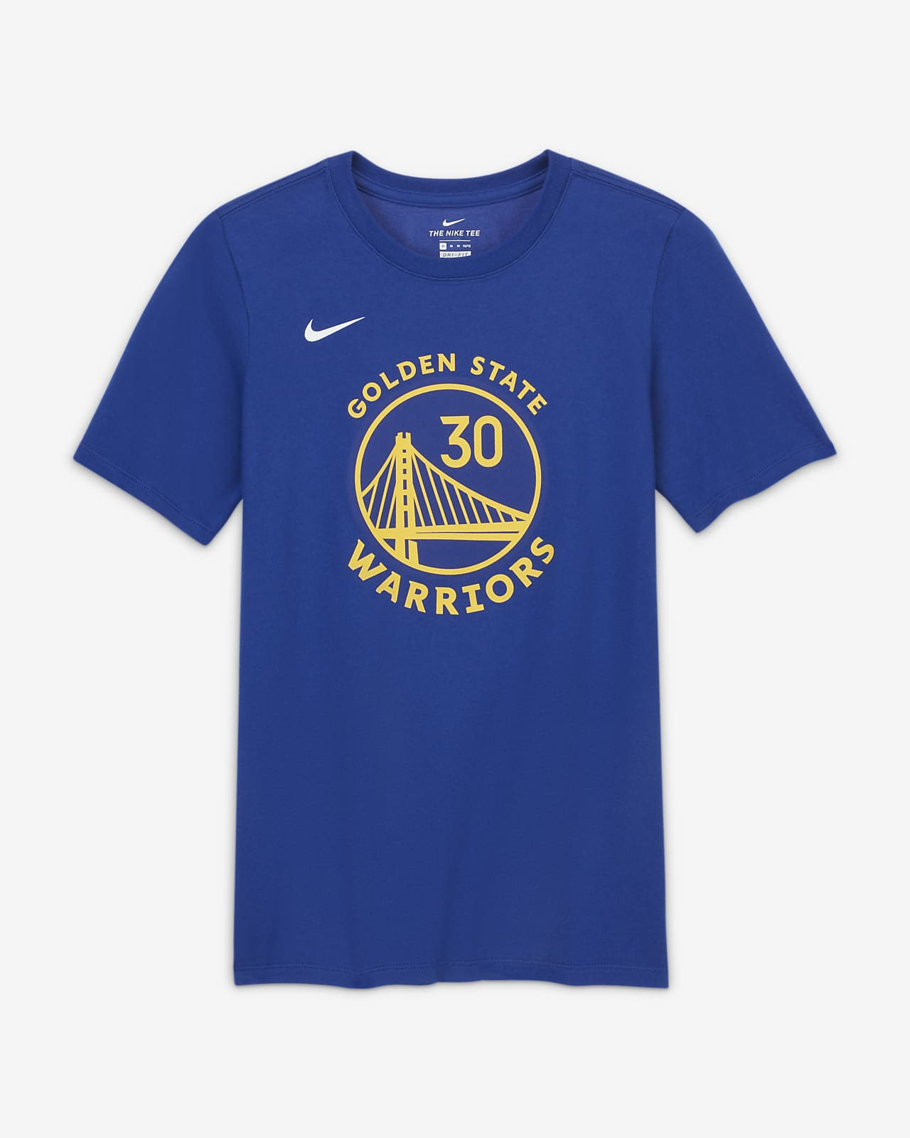 Stephen Curry Warriors Older Kids' Nike NBA Player T-Shirt