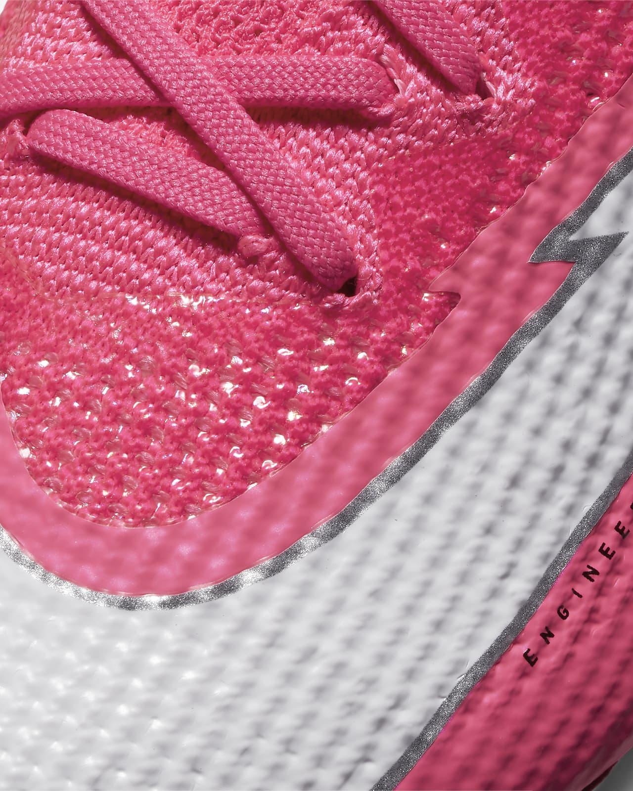 Nike Mercurial Vapor 13 Elite Mbappé Rosa FG Fußballschuh für normalen Rasen