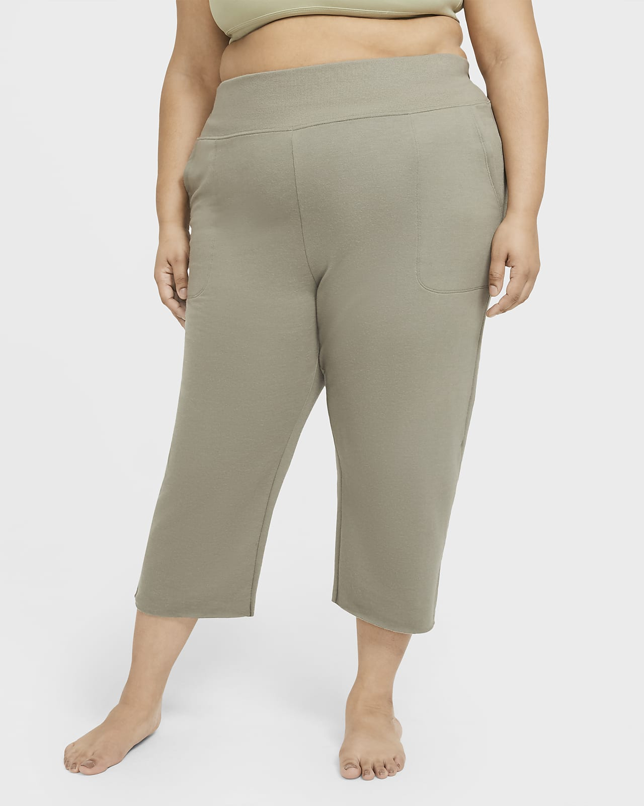 Pantalones De Pescador De Tejido Fleece Para Mujer Nike Yoga Luxe Talla Grande Nike Com