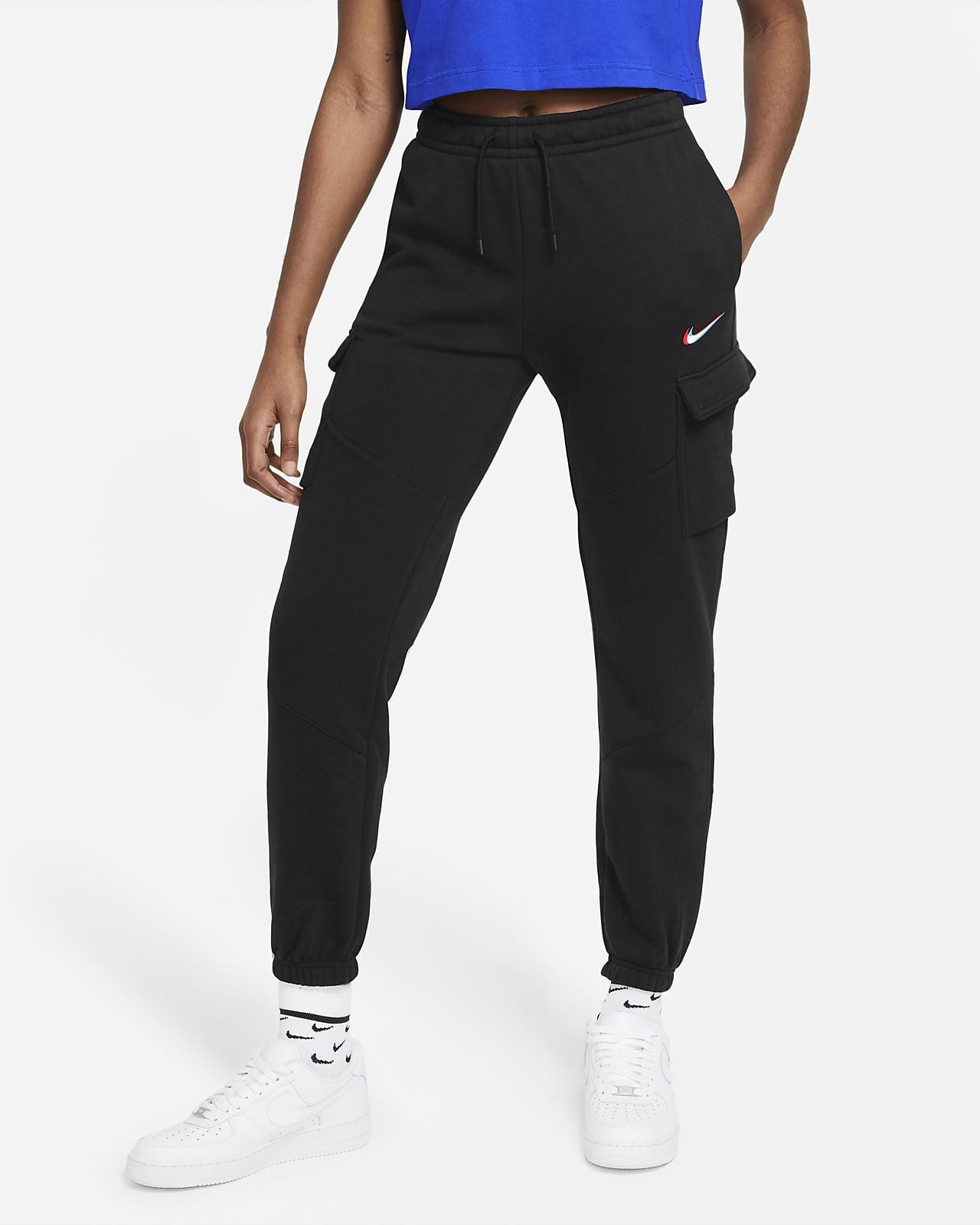 Damskie bojówki do tańca z dzianiny Nike Sportswear