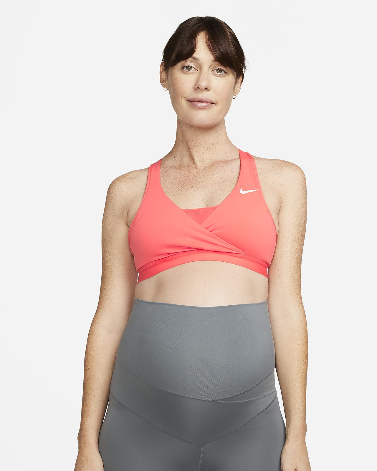 Vadderad sport-BH Nike (M) Swoosh med mediumstöd för kvinnor (Maternity)