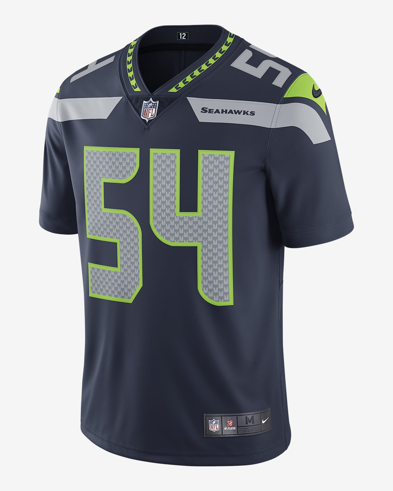 NFL Seattle Seahawks Vapor Untouchable (Bobby Wagner) Men's Limited Football Jersey