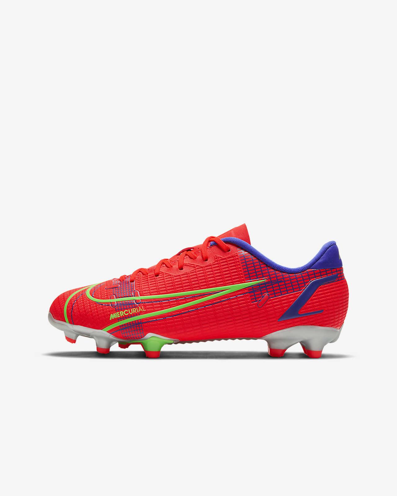 รองเท้าสตั๊ดฟุตบอลเด็กเล็ก/เด็กโตสำหรับพื้นหลายประเภท Nike Jr. Mercurial Vapor 14 Academy FG/MG