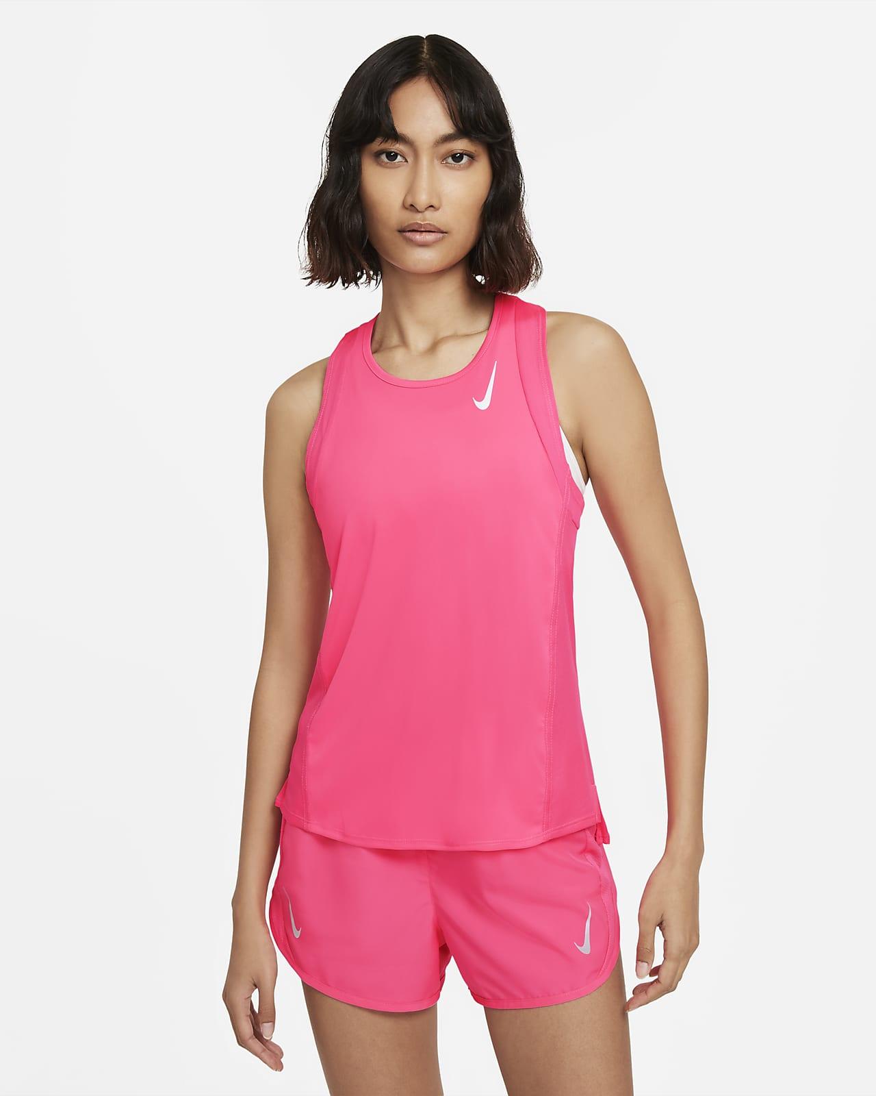 Женская беговая майка Nike Dri-FIT Race