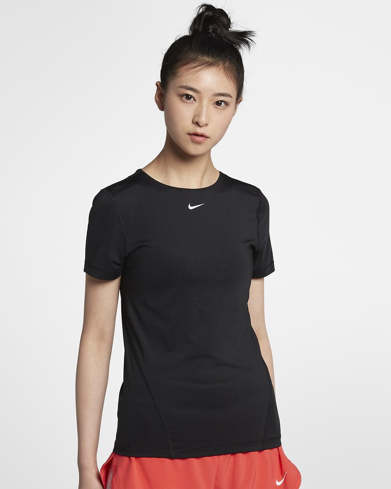 เสื้อตาข่ายผู้หญิง Nike Pro (พลัสไซส์)
