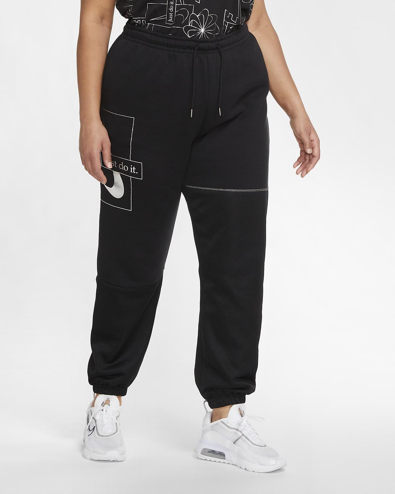 Nike Sportswear Icon Clash Women's Fleece Trousers (Plus Size)