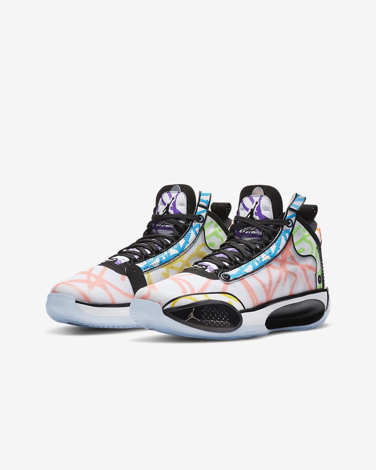 Air Jordan XXXIV Zion PE Big Kids