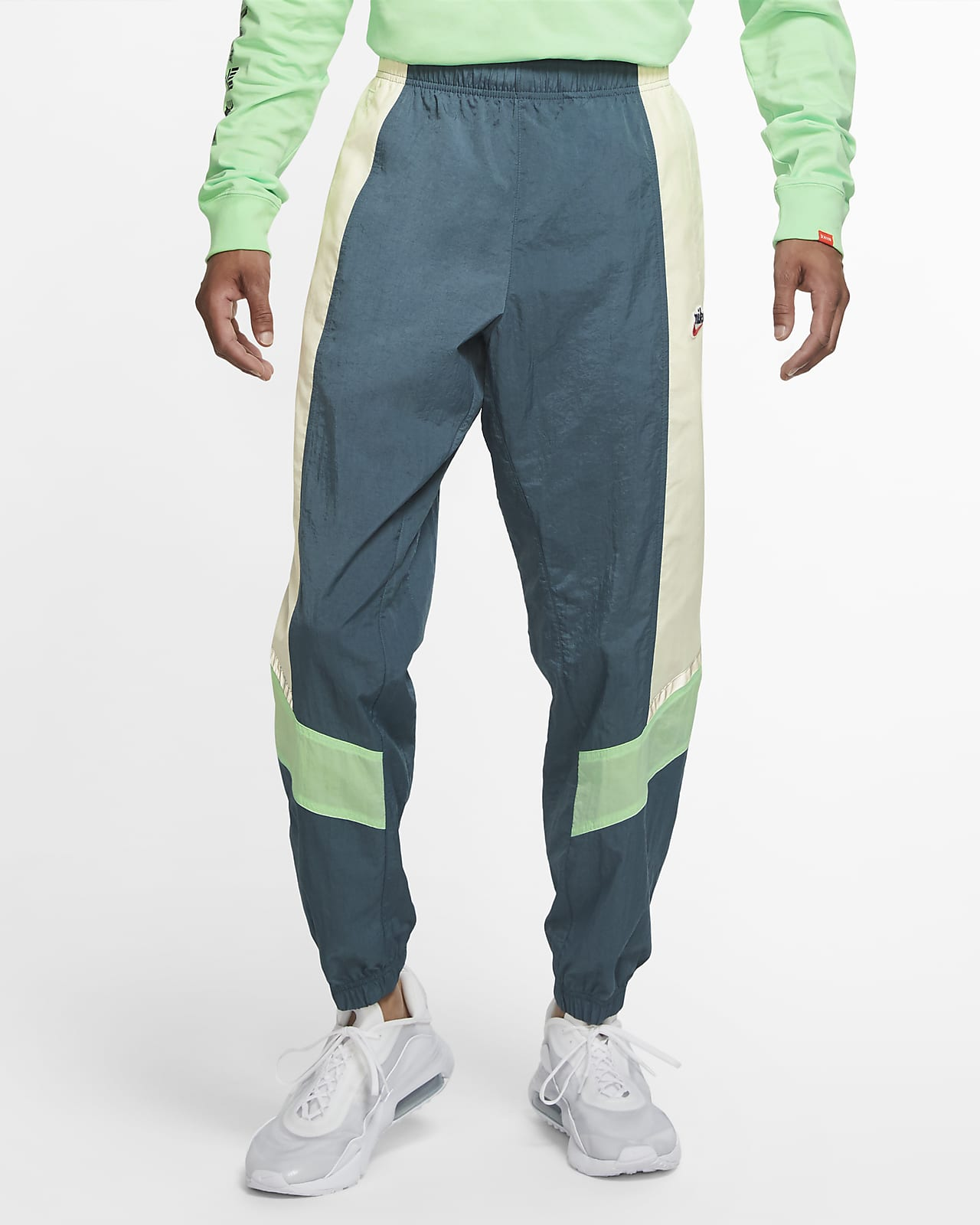 Nike Sportswear Heritage Windrunner 男款梭織長褲