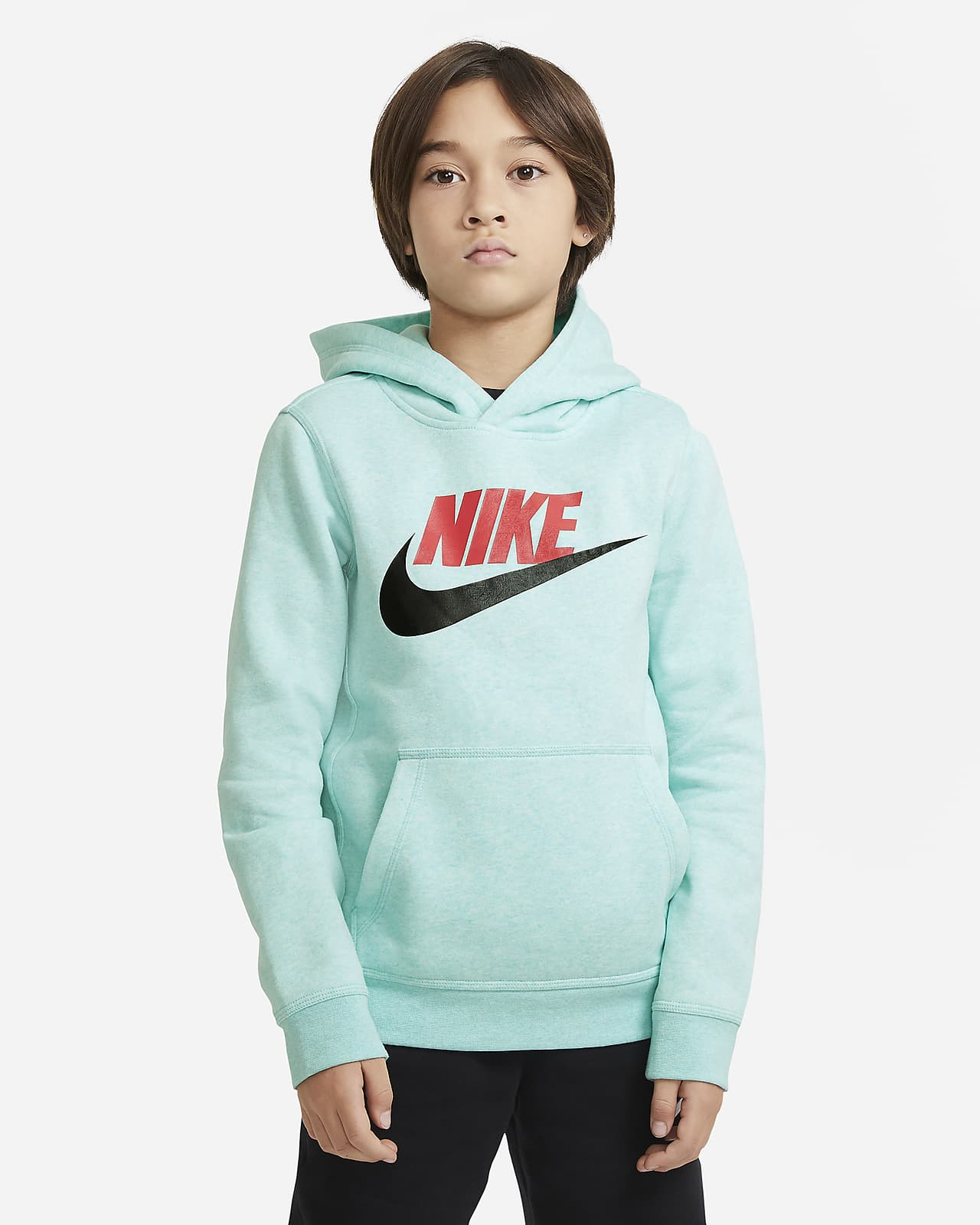 Nike Sportswear Club Fleece Big Kids' Pullover Hoodie