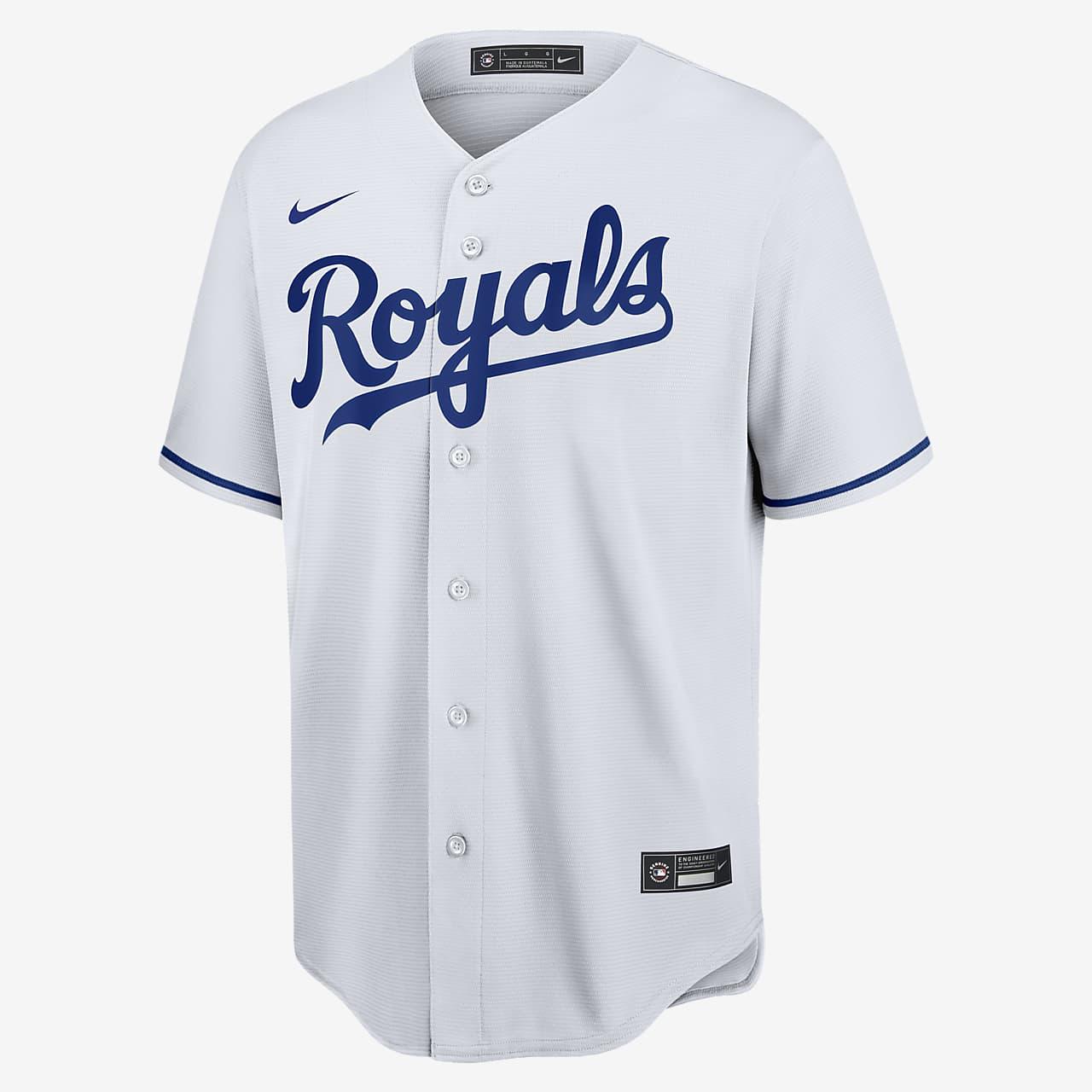 MLB Kansas City Royals (Salvador Perez) Men's Replica Baseball Jersey