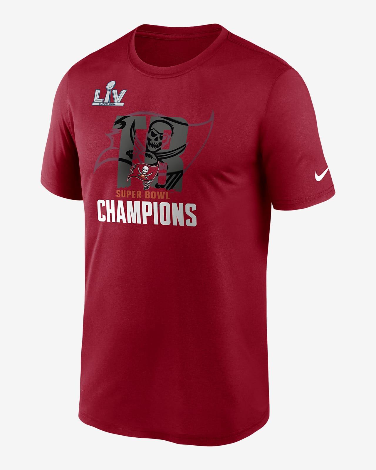 Nike Dri-FIT Super Bowl LV Champions Local Legend (NFL Tampa Bay Buccaneers) Men's T-Shirt