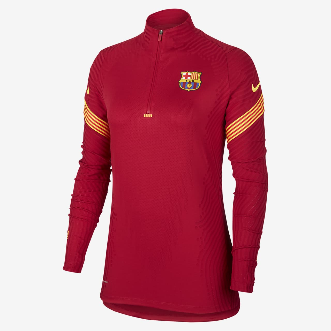 FC Barcelona VaporKnit Strike Samarreta d'entrenament de futbol - Dona
