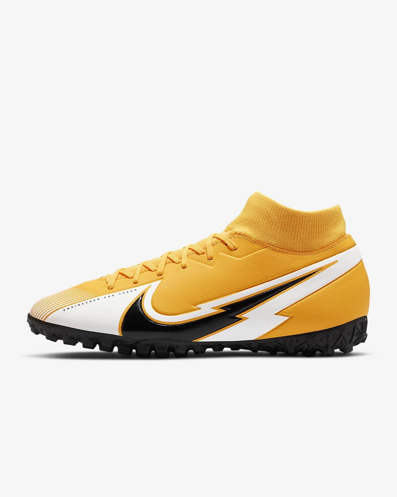 chaussure jaune nike
