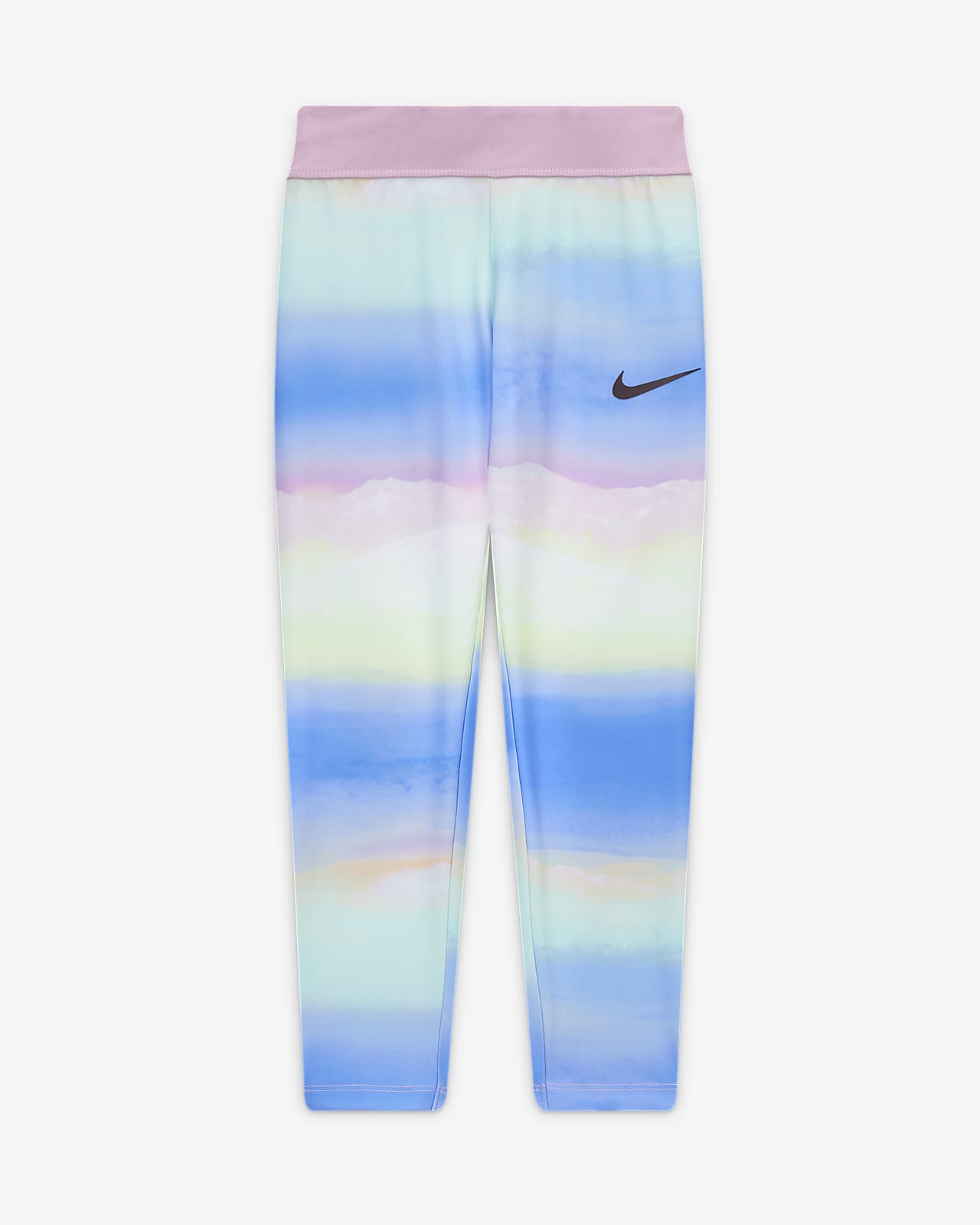 Nike Dri-FIT 幼童中长紧身裤