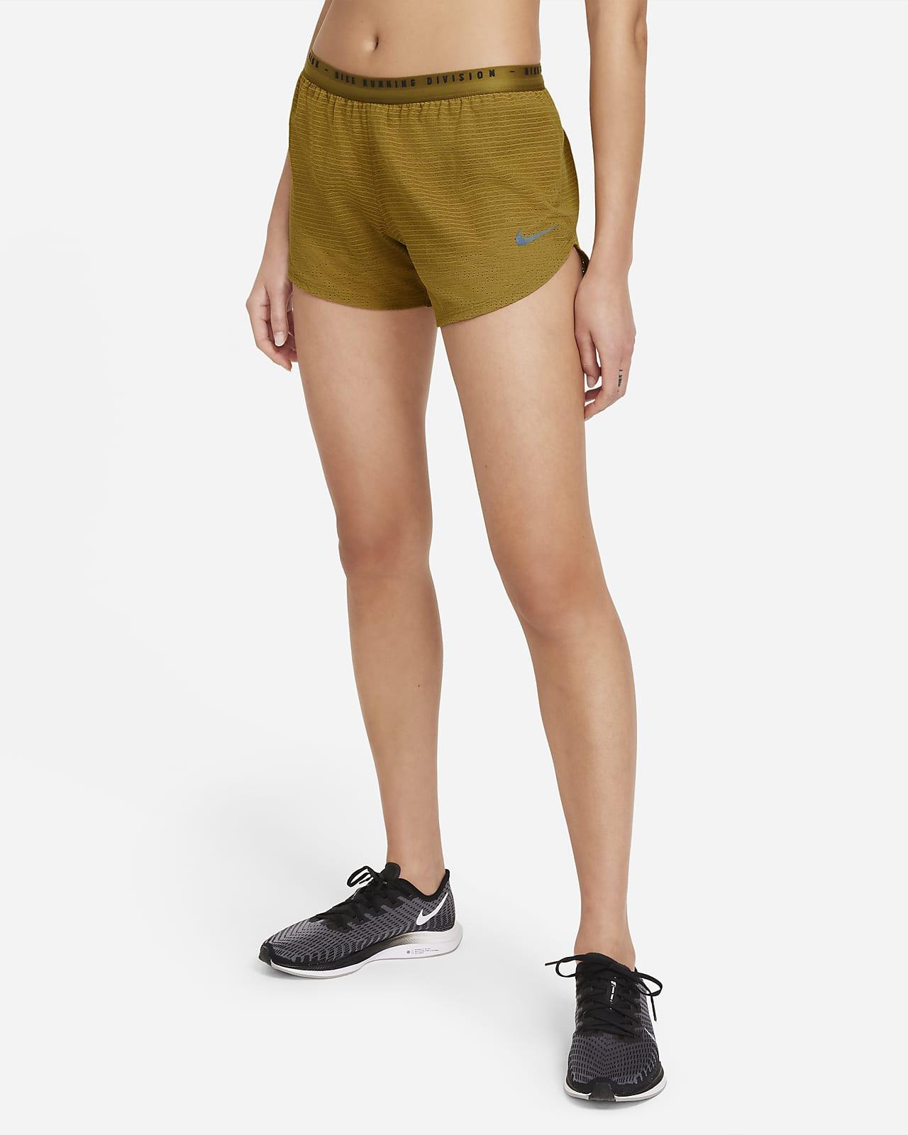กางเกงวิ่งขาสั้นผู้หญิงออกแบบเชิงโครงสร้าง Nike Run Division