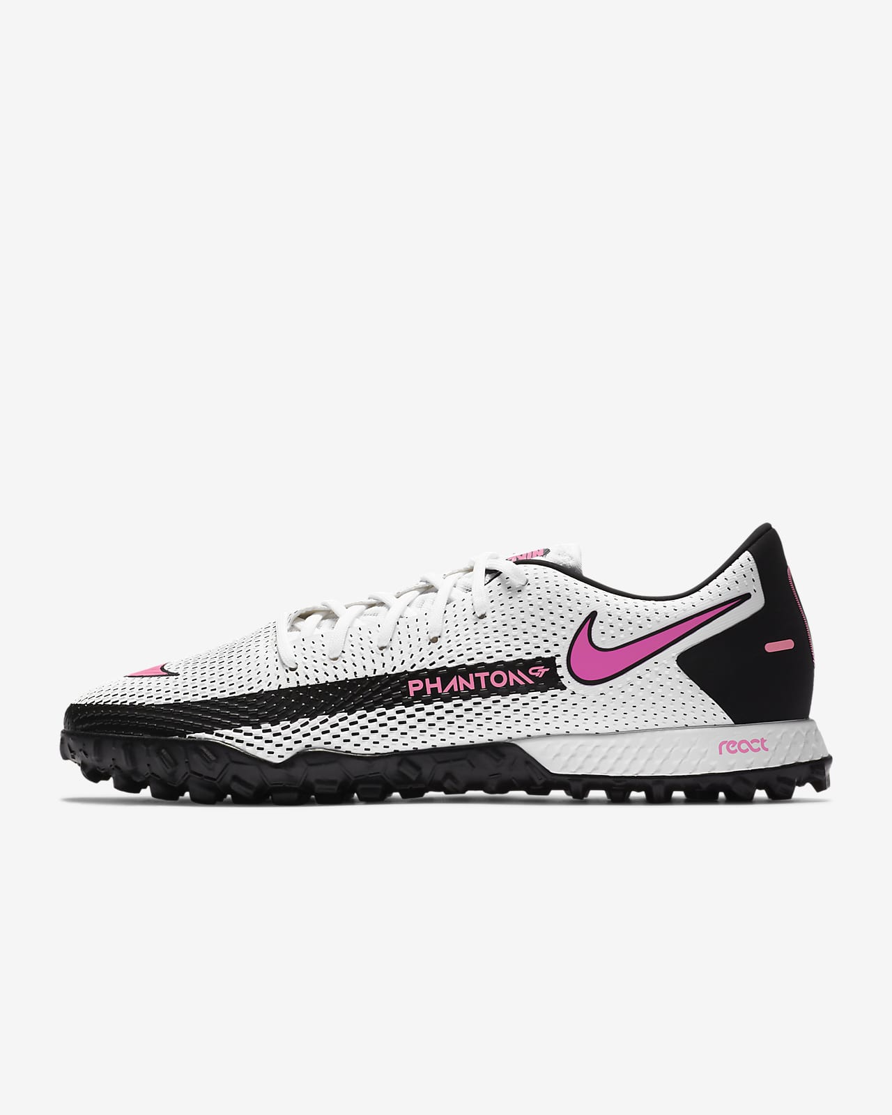 Nike React Phantom GT Pro TF Turf Soccer Shoe